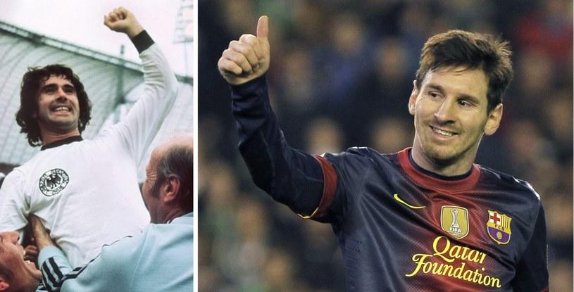 Gerd Mueller nie jest już rekordzistą pod względem ilości strzelonych goli w jednym roku. Zastąpił go Messi /PAP/EPA