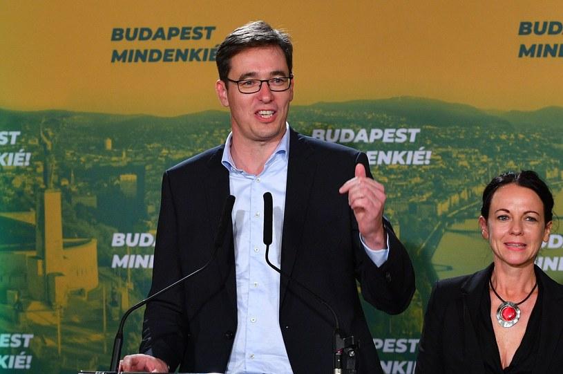 Gergely Karacsony, nowy burmistrz Budapesztu /AFP