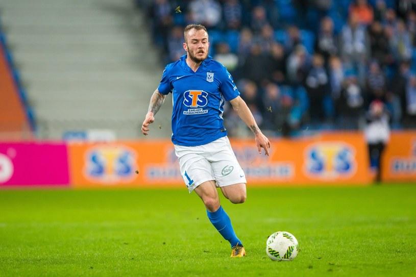 Gergo Lovrencsics jeszcze niedawno grał w Lechu Poznań, a niebawem będzie mógł zagrać przeciw Arce Gdynia w el. LE /Przemysław Szyszka /East News