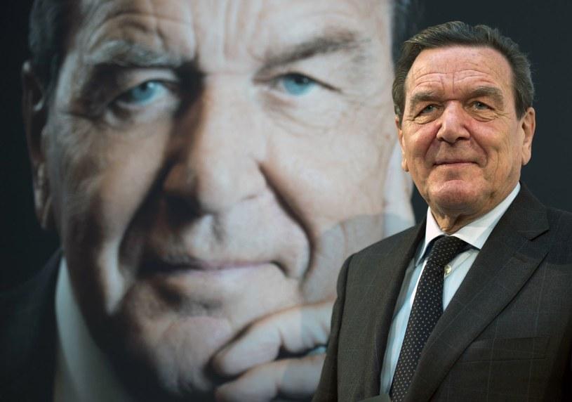 Gerhard Schroeder /AFP