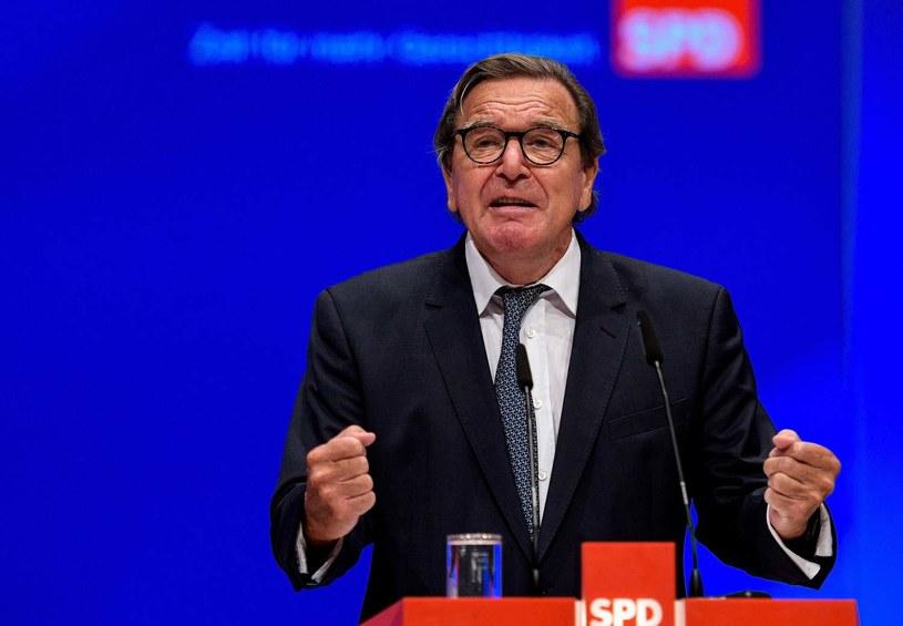 Gerhard Schroeder /Sascha Schuermann  /AFP