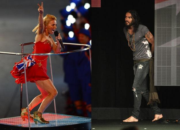 Geri Halliwell (fot. Mike Hewitt) i Russell Brand (fot. Frederick M. Brown) są parą /Getty Images/Flash Press Media