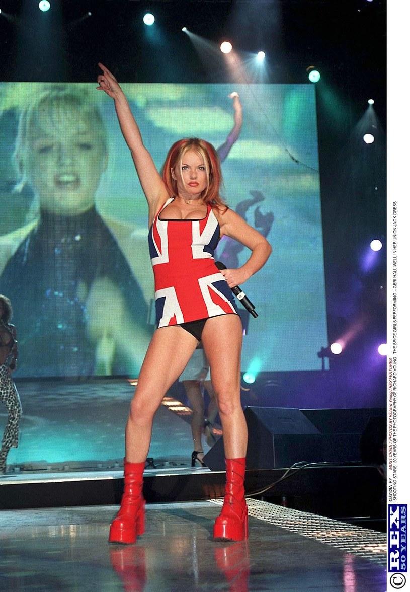 Geri Halliwell na Brit Awards 1997 /Rex Features/Richard Young /East News