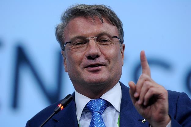 German Gref, prezes Sbierbanku /AFP