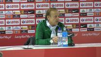 Gernot Rohr przed meczem z Polską. Wideo