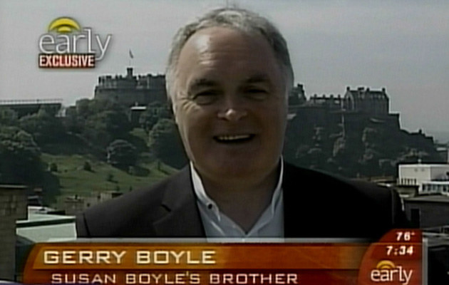 Gerry Boyle  /Splashnews