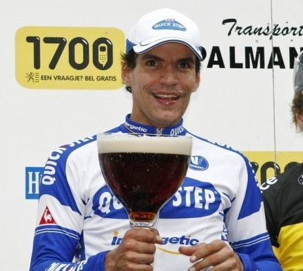 Gert Steegmans z pewnością przyda się rosyjskiej ekipie kolarskiej /AFP