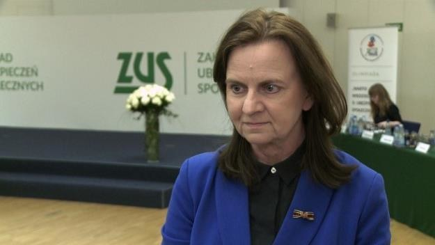 Gertruda Uścińska, prezes Zakładu Ubezpieczeń Społecznych /Newseria Biznes