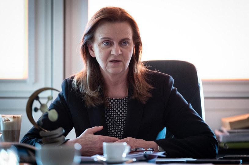 Gertruda Uścińska, prezes ZUS, fot. FW /INTERIA.PL