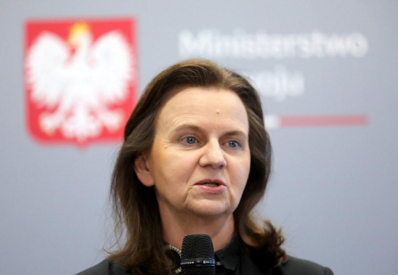 Gertruda Uścińska, prezes ZUS /Piotr Molecki /Agencja SE/East News