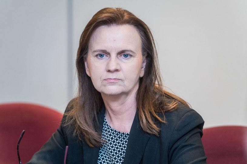 Gertruda Uścińska, prezes ZUS / Jacek Domiński /Reporter