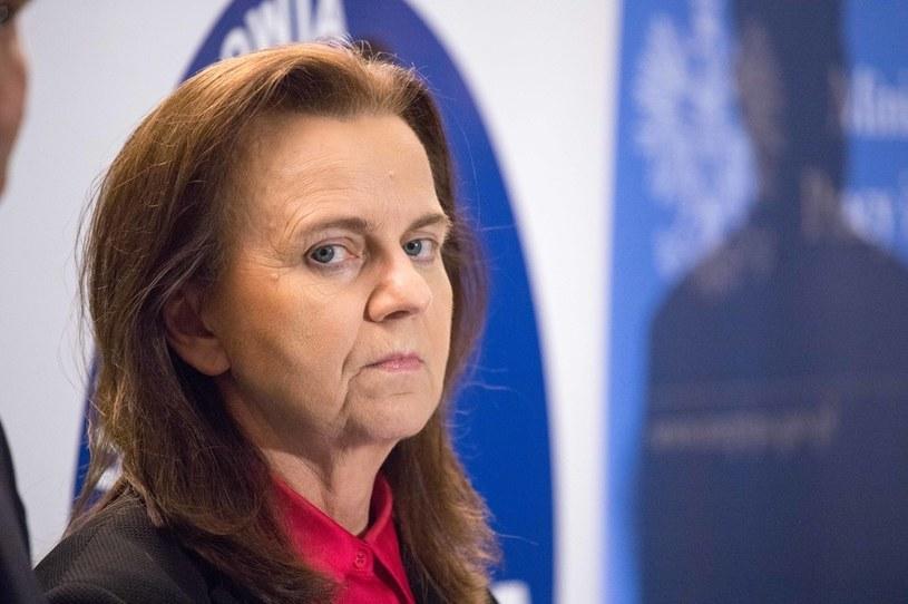 Gertruda Uścińska, prezes ZUS /Feliks Herauf /Getty Images