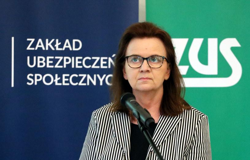 Gertruda Uścińska, prezes ZUS / Jakub Kamiński    /Agencja SE/East News