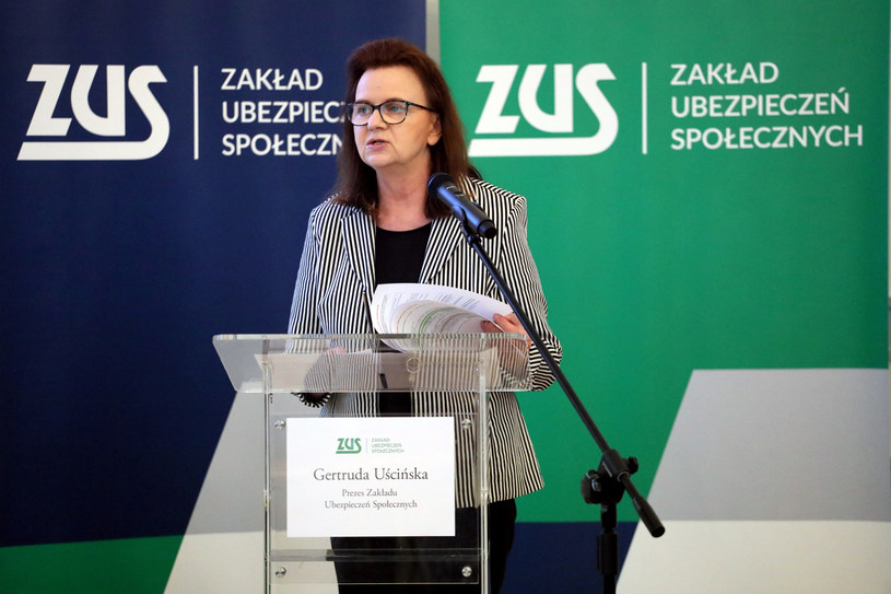 Gertruda Uścińska, prezes ZUS / Jakub Kamiński    /East News