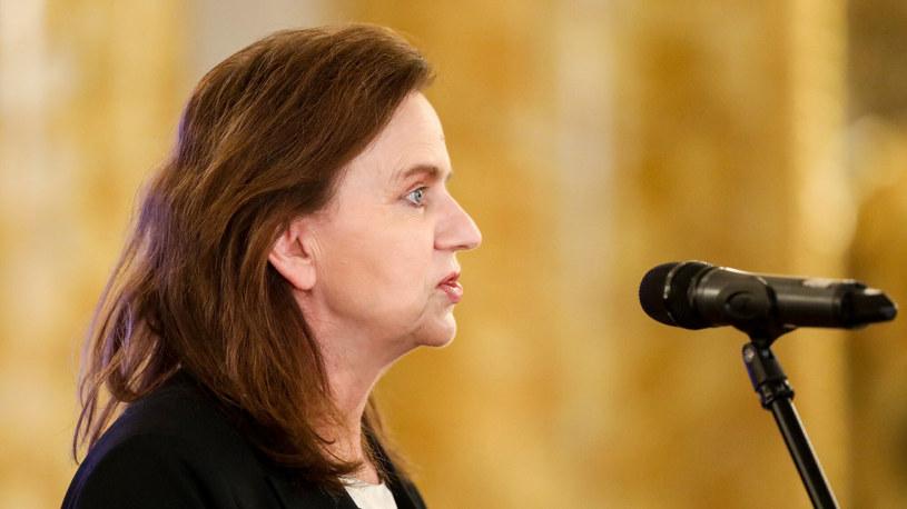 Gertruda Uścińska, prezes ZUS /Tomasz Jastrzębowski /Reporter