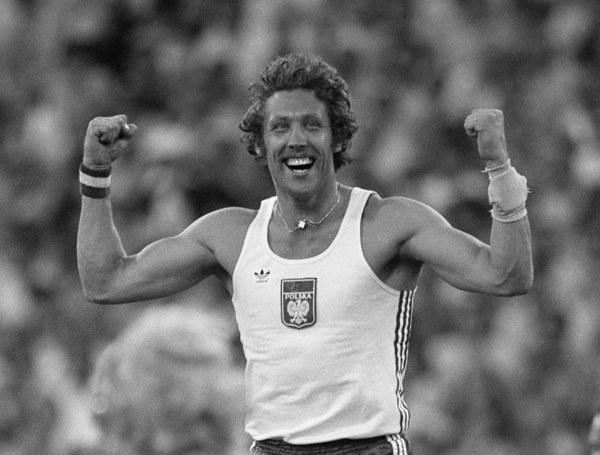 Władysław Kozakiewicz na Igrzyskach Olimpijskich w Moskwie, 30.07.1980