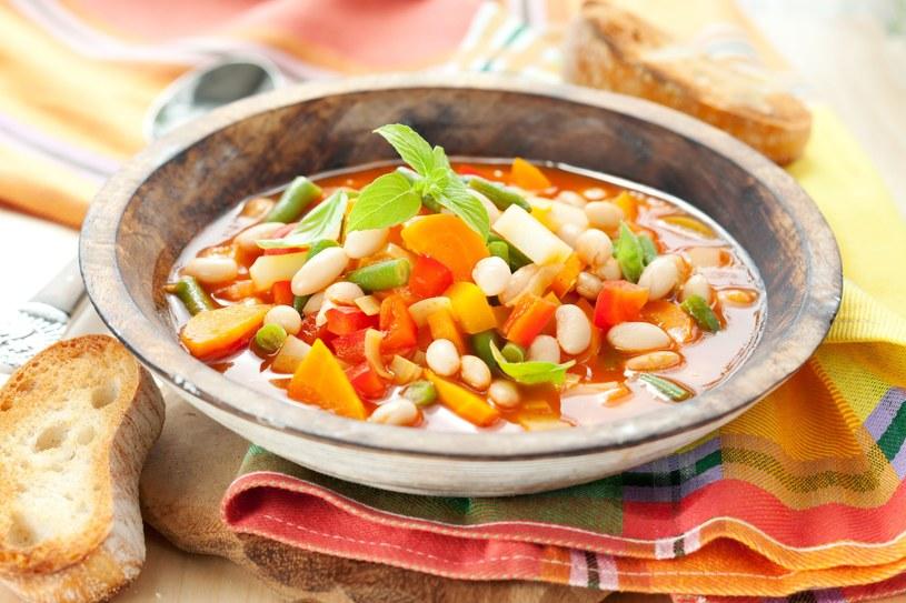 Gęsta zupa minestrone /123RF/PICSEL