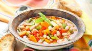 Gęsta zupa minestrone