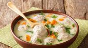 Gęsta zupa z klopsikami