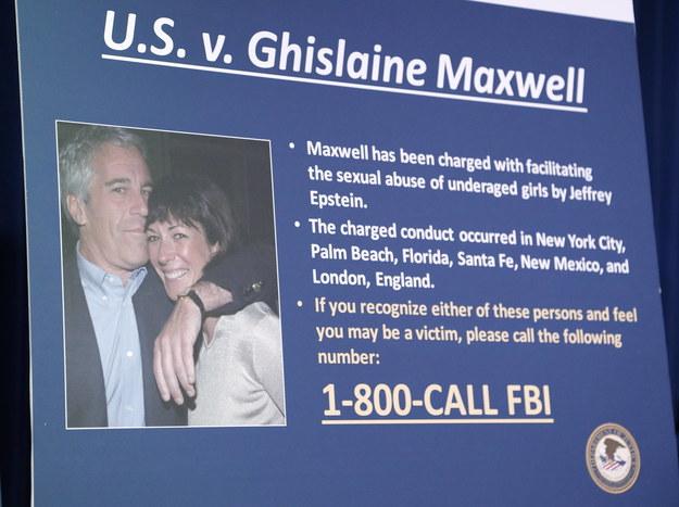 Ghislaine Maxwell została zatrzymana przez FBI /JASON SZENES    /PAP/EPA