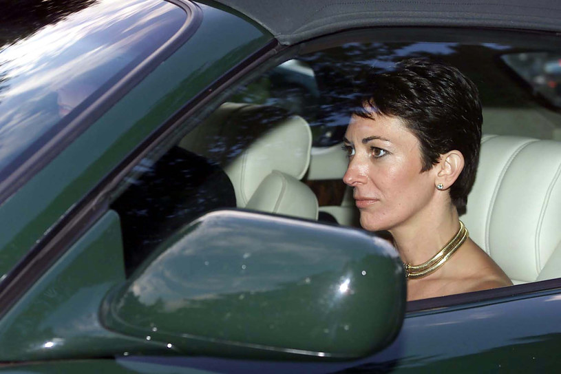 Ghislaine Maxwell /Chris Ison/PA Images /Agencja FORUM