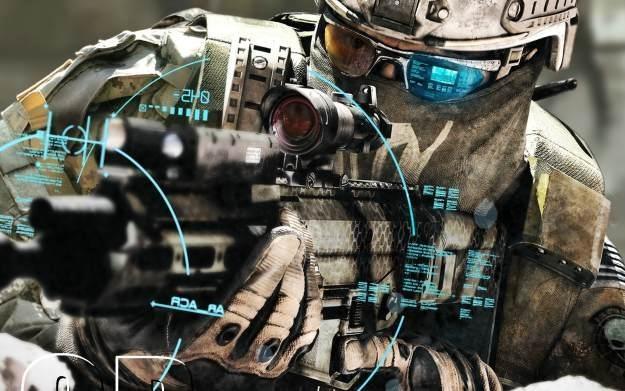 Ghost Recon: Future Soldier - motyw graficzny /Informacja prasowa