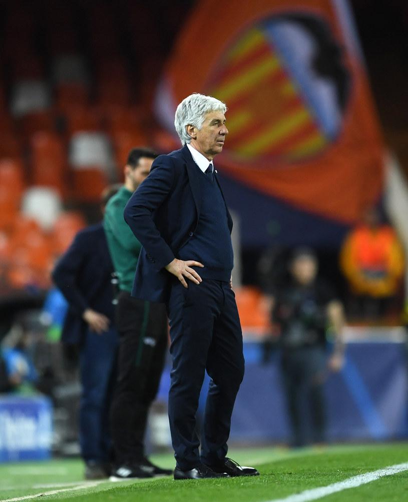 Gian Piero Gasperini w trakcie meczu z Valencią CF /UEFA /Getty Images