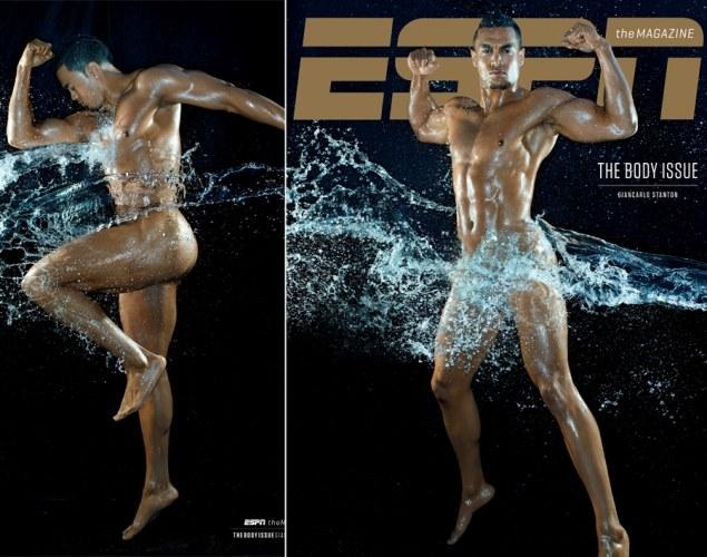 Giancarlo Stanton na okładce magazynu ESPN /INTERIA.PL