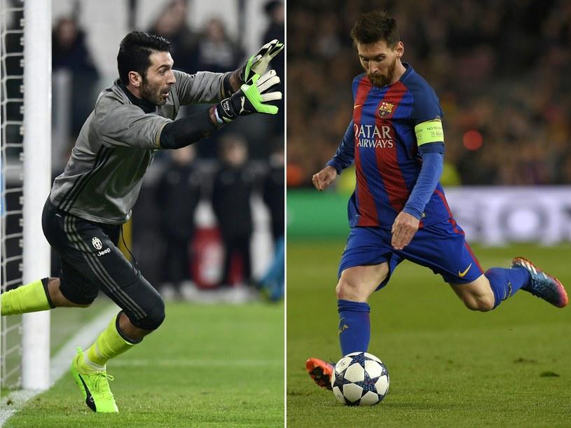 Gianlugi Buffon pozostaje jednym z niewielu bramkarzy na świecie, któremu Lionel Messi nigdy nie strzelił gola. Czy w środę Argentyńczyk przełamie złą passę? /AFP