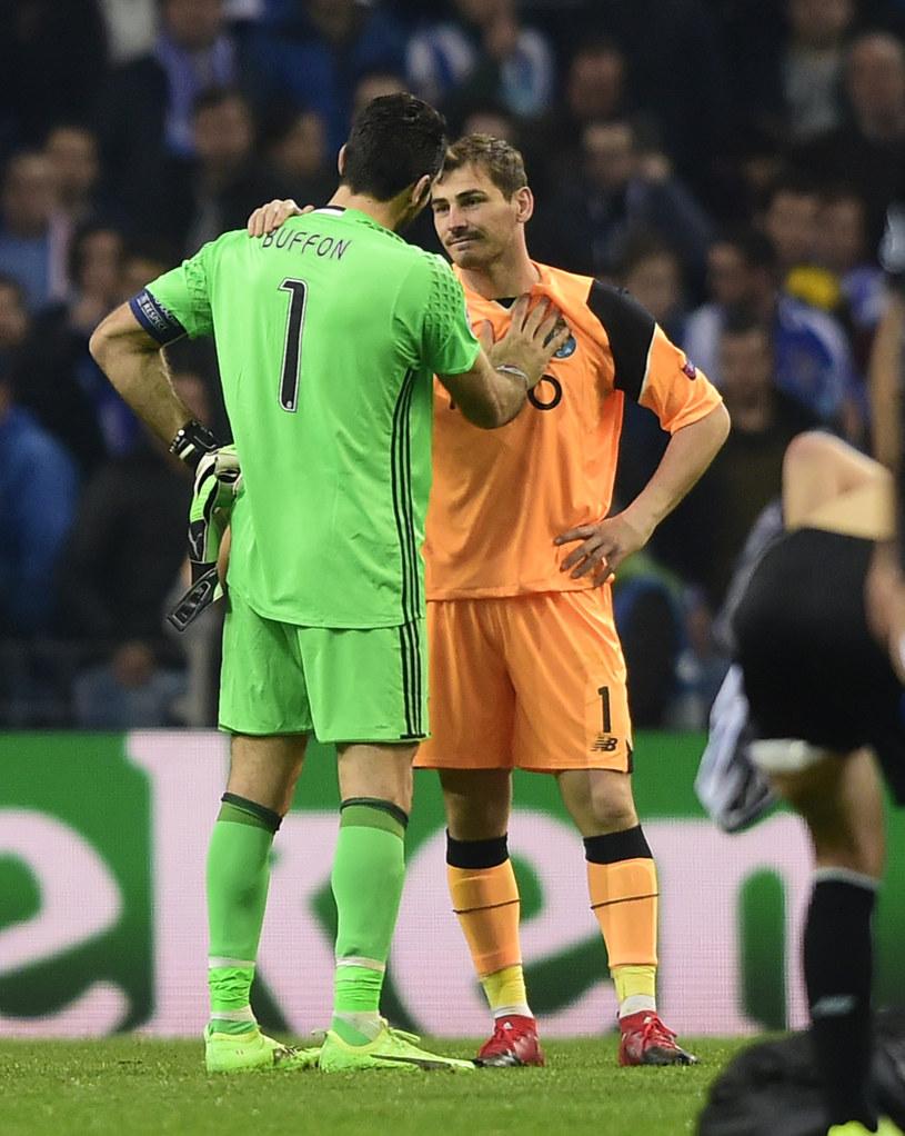 Gianluigi Buffon i Iker Casillas /AFP