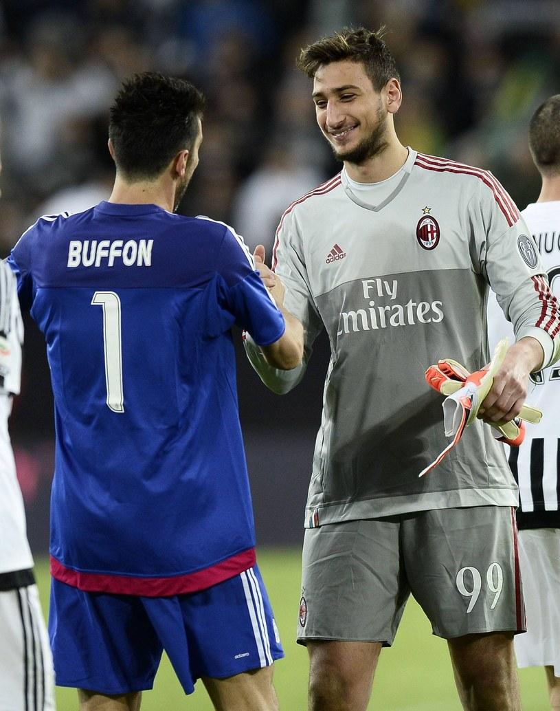 Gianluigi Buffon oraz Gianluigi Donnarumma /imago sportfotodienst /East News