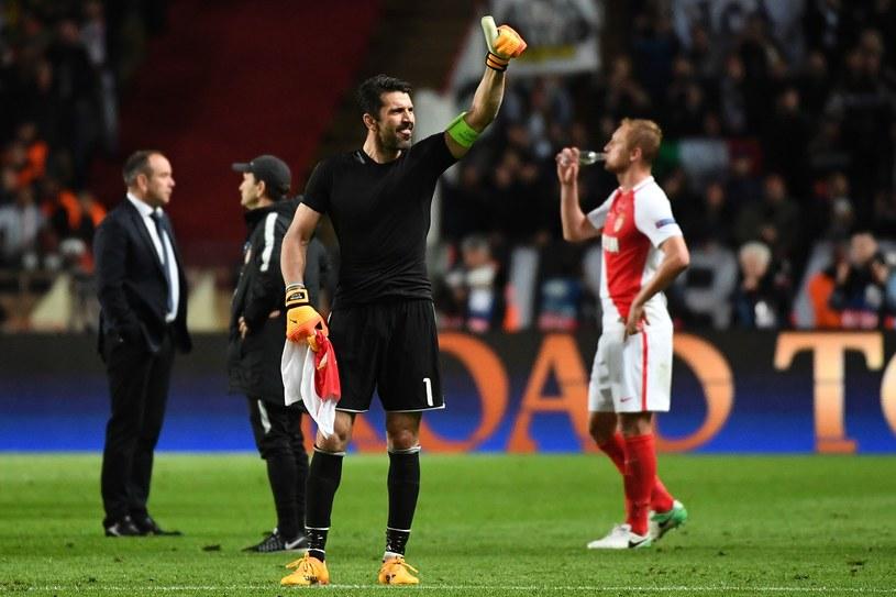 Gianluigi Buffon triumfuje po pokonaniu AS Monaco /AFP