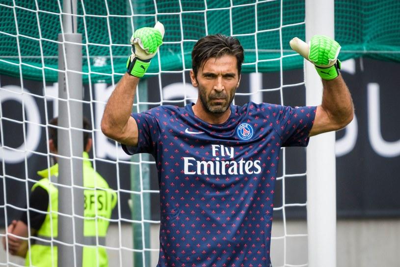 Gianluigi Buffon w barwach PSG /AFP