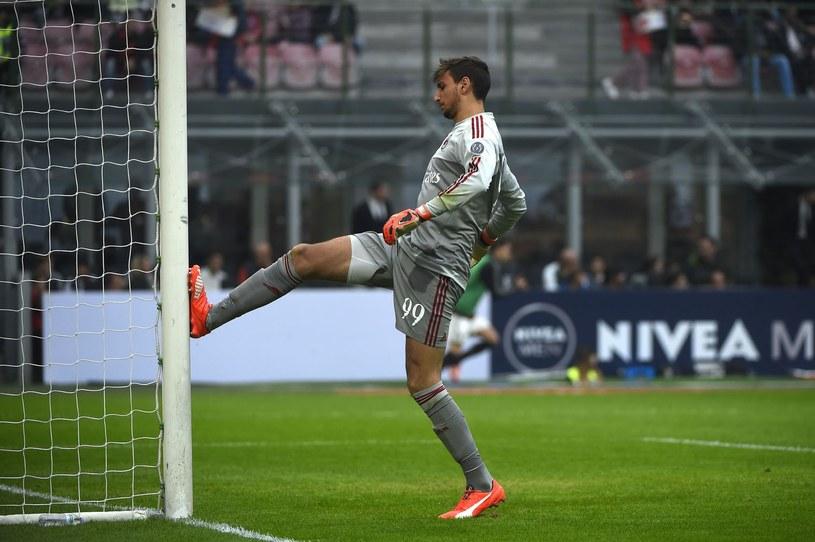 Gianluigi Donnarumma, bramkarz AC Milan /AFP