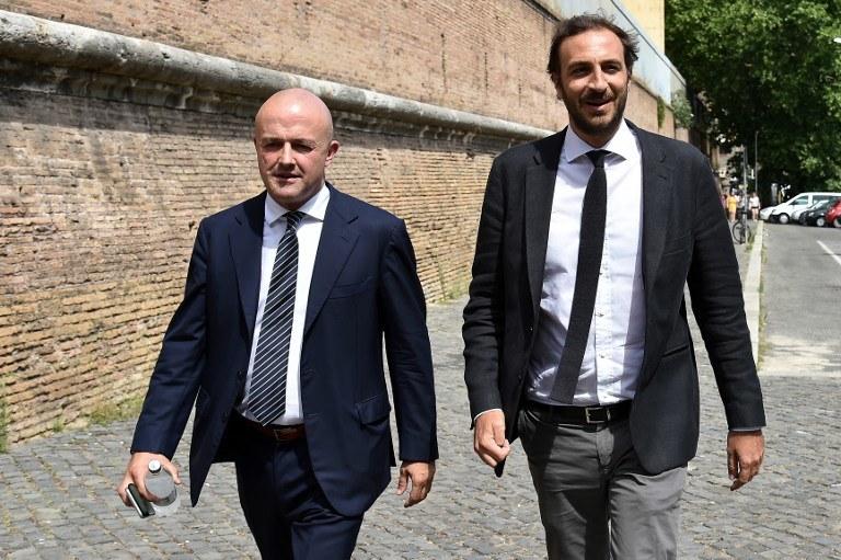 Gianluigi Nuzzi i Emiliano Fittipaldi /AFP