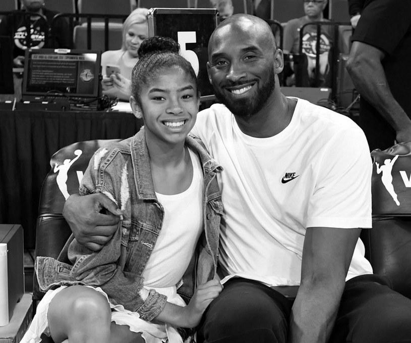 Gianna Bryant i Kobe Bryant /AFP