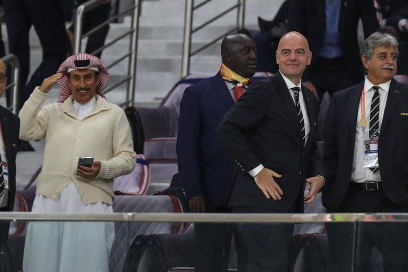 Gianni Infantino și oficialii FIFA / ZUMA / NEWSPIX.PL / Newspix