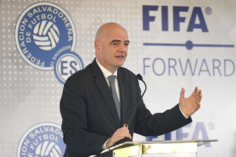 Gianni Infantino, szef FIFA /AFP