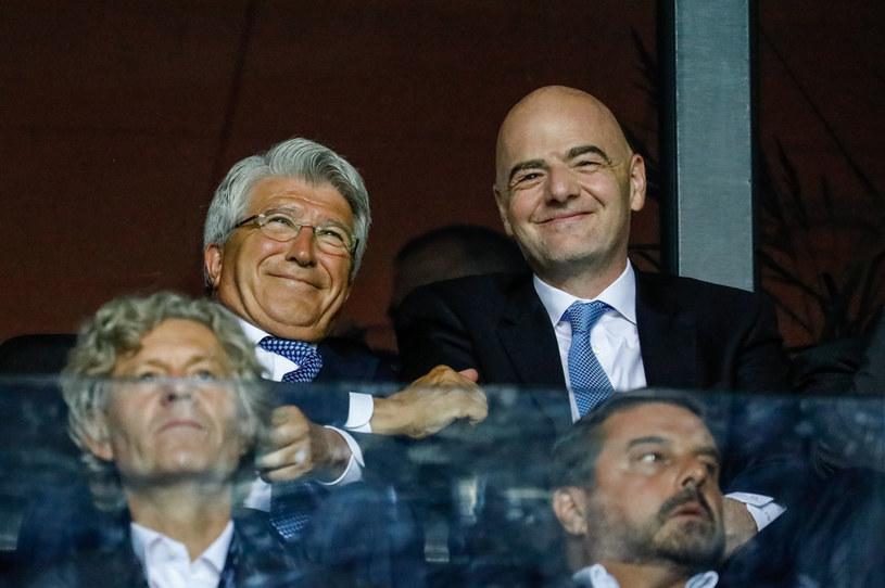 Gianni Infantino z UEFA /ZUMA/NEWSPIX.PL /Newspix