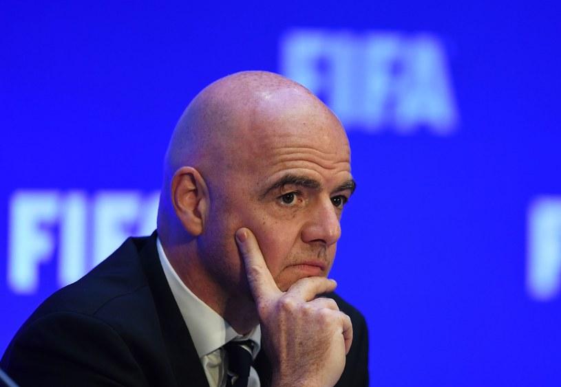 Gianni Infantino /DIBYANGSHU SARKAR /AFP