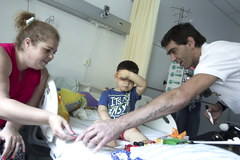 Giba, legenda brazylijskiej siatkówki, odwiedził we Wrocławiu dzieci chore na raka