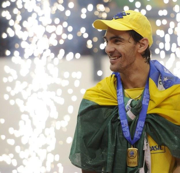 Giba to legenda światowej siatkówki /AFP
