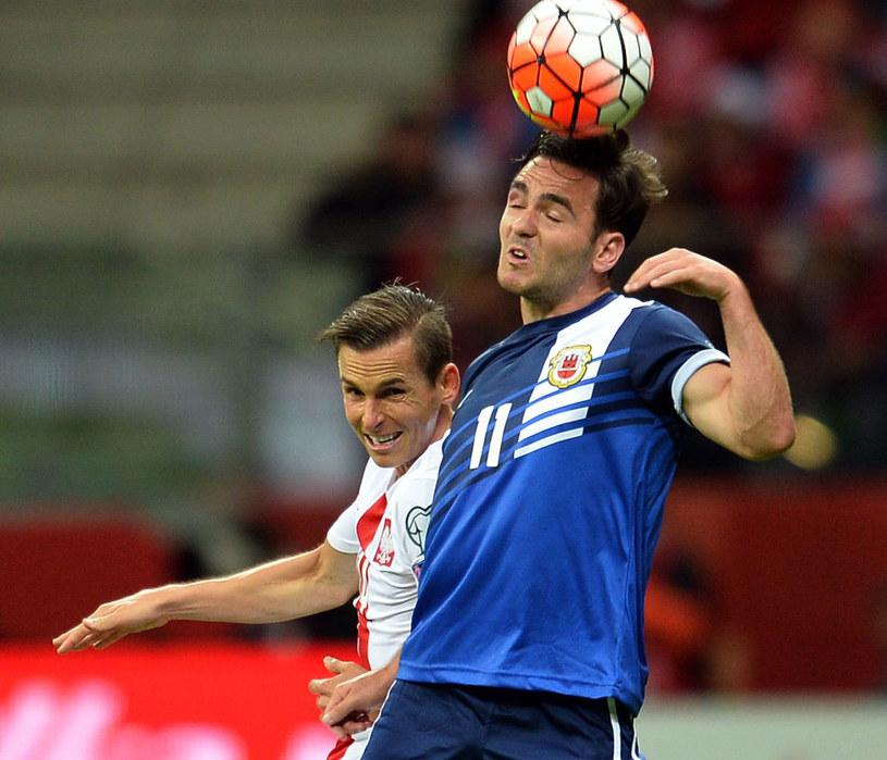 Gibraltar był rywalem Polski w eliminacjach Euro 2016 /Bartłomiej Zborowski /PAP