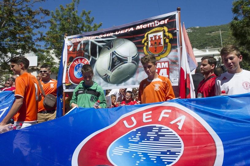 Gibraltar został członkiem UEFA w maju /AFP