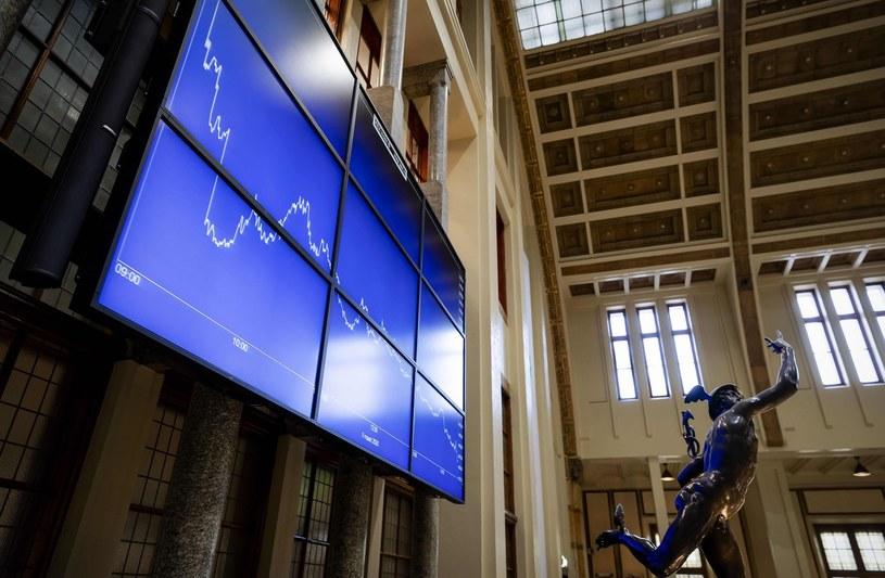 Giełda Euronext w Amsterdamie /AFP