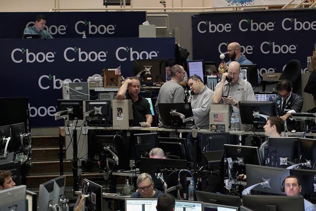 Giełda futures Cboe Global Markets exchange w Chicago /AFP