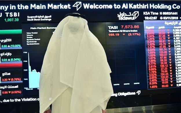 Giełda w Rijadzie /AFP