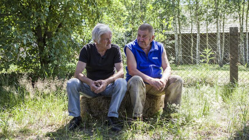 Gienek ze swoim kolegą Jastrzębiem /FOKUS TV