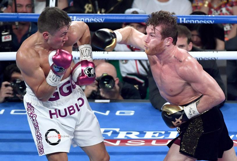 Giennadij Gołowkin (z lewej) i Saul Alvarez /Ethan Miller /Getty Images