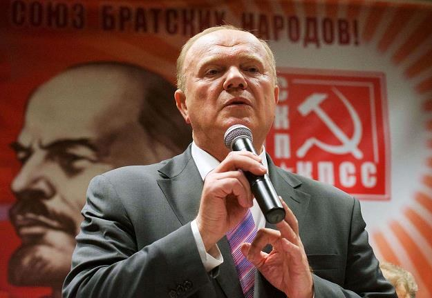 Giennadij Ziuganow, przewodniczący Komunistycznej Partii Federacji Rosyjskiej /AFP
